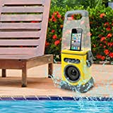 iCanister MP3/iPod Water-Resistant Speaker - Yellow