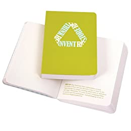 Product Image Rethink. Reinvent. Notebook - Olive (5.1x3.6)