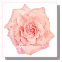 Webb Direct 2U Versatile 3 in 1 Extra Lg Sequin Rose Flw Clip Lt Pink (1148)