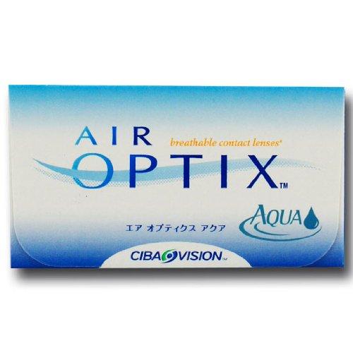 Ciba Vision Air Optix Aqua Monatslinsen weich, 6 Stück / BC 8.6 mm / DIA 14.2 / -2,50 Dioptrien