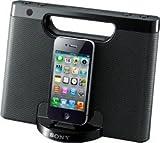 Sony RDPM7iPBLK Portable Speaker Dock for iPod/iPhone,  (Black)