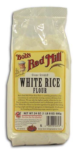Bob's Red Mill White Rice Flour, Stone Ground (Pack of 3)
