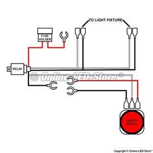 Lamphus Cruizer Off Road ATV Jeep LED Light Bar Wiring Harness Kit 40 Amp New | eBay