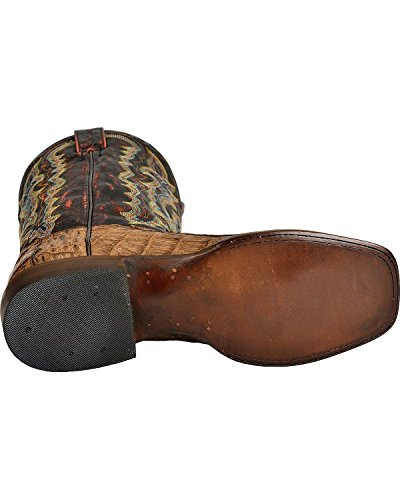 Red Ranch Men S Caiman Belly Cowboy Boot Square Toe Bay