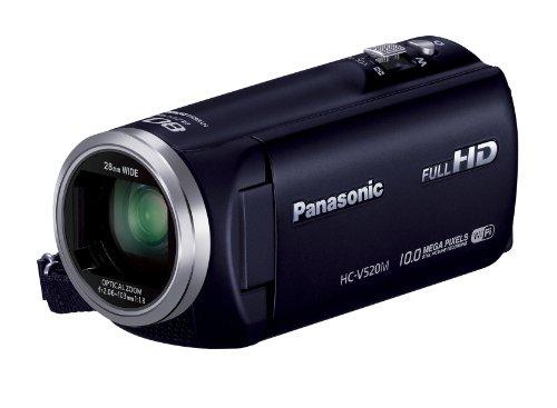 Panasonic デジタルハイビジョンビデオカメラ 内蔵メモリー32GB ダークネイビー HC-V520M-A