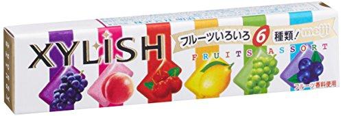 明治 キシリッシュガムフルーツアソート 12粒×15個