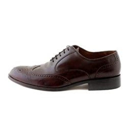 NOHARM Traditional Brown Brogue Vegan Shoes NOHR1963