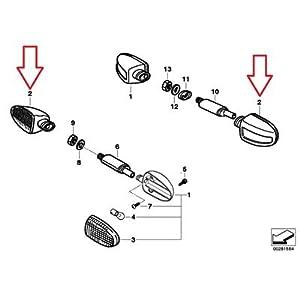 Amazon.com: BMW Genuine Rear Turn Signal Indicator R1100GS