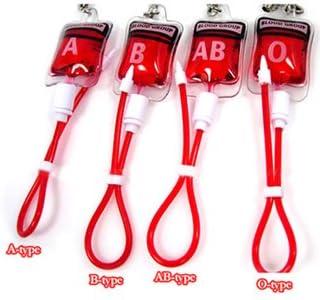血液型ストラップ(AB型)
