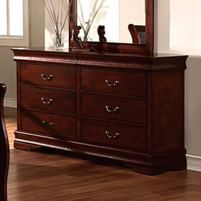 Louis Phillipe II Solid Wood Cherry Finish Bedroom Dresser Find Discount  promotion from amazon