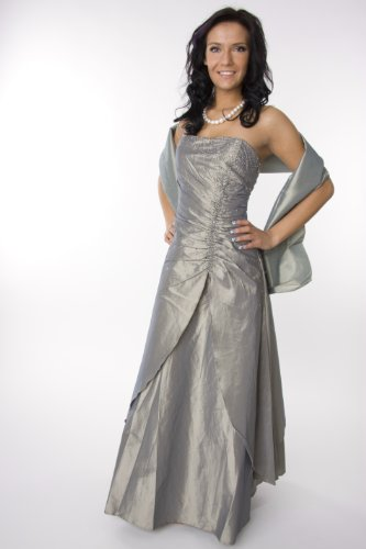 2010 Abendkleid lang, schulterfrei