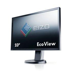 NANAO EIZO FlexScan 23インチカラー液晶モニター 1920x1080 DVI-D 24Pin DisplayPort D-sub 15Pin ブラック FlexScan EV2336W EV2336W-FSBK