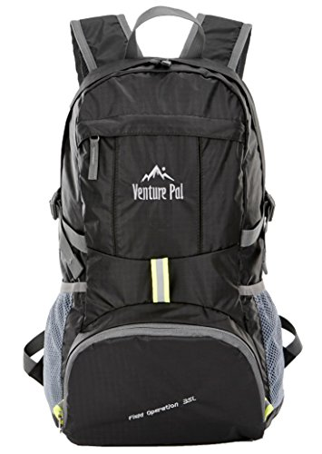 Venture Pal Lightweight Packable Durable Travel Hiking Backpack ...