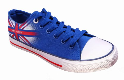 PEAK Sneaker Herren Canvas London blau 45
