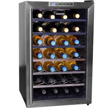 NewAir AW-281E 28 Bottle Wine Cooler