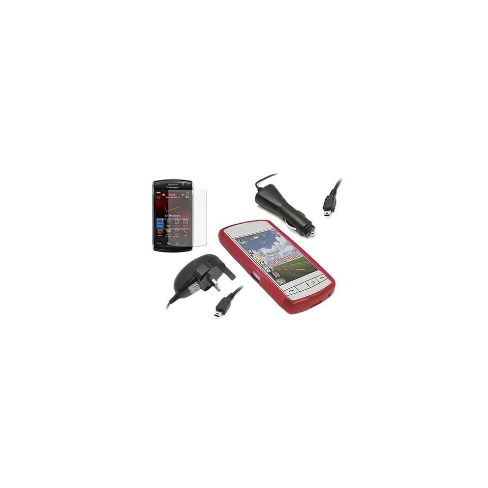 iTALKonline QUADRO RED ProGel Hydro Soft Case/Cover/Skin