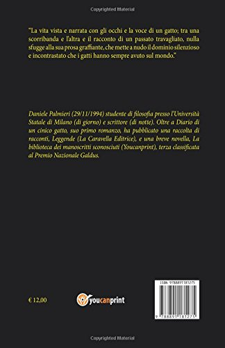 Libro Diario di un cinico gatto di Daniele Palmieri
