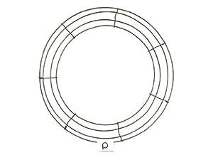 Panacea Wire Wreath Frame 14