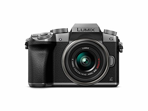 Panasonic LUMIX DMC-G7KS DSLM Mirrorless 4K Camera, 14-42 mm Lens Kit (Silver)
