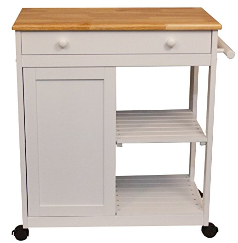 Best Cheap denver white modern kitchen cart for sale 2016 Review – Giftvaca