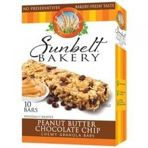 Sunbelt Bakery Peanut Butter Chocolate Chip Chewy Granola