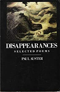 """Cover of """"Disappearances"""""""