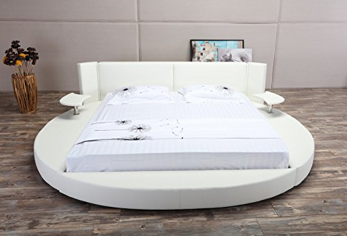 Daily Real Estate, Mortgage, Loans,(VIDEO Review) Oslo-X Round Bed Queen Size (White),