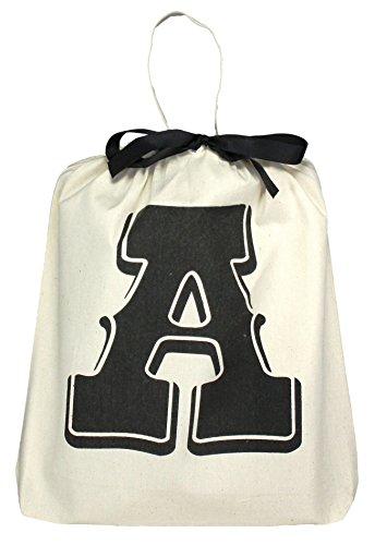 Bag all ( バッグオール ) ニューヨーク の アルファベット レターバッグ A LETTER BAG A コットン 手提げ ipadair や A4 入る 大きさ 海外 ブランド