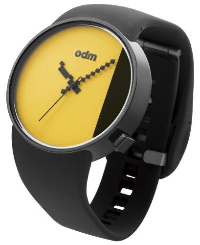[オーディーエム]o.d.m 腕時計 STUDIO アナログ表示 5気圧防水 イエロー×ブラック DD134-8 メンズ 【正規輸入品】