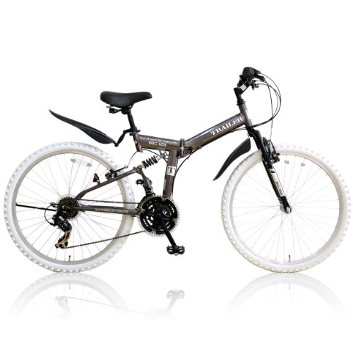 New B-GROW folding bike [mountain bike] Shimano 18-speed W