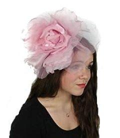 Hats By Cressida Pale Pink Silk Flower Kentucky Derby Fascinator Hat With Headband
