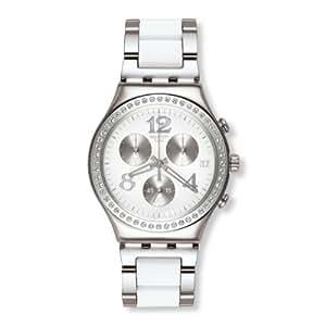 Swatch Damen-Armbanduhr Touch Secret Thought White