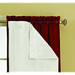 Eclipse 54-Inch by 60-Inch Thermaliner Blackout Panel Pair, White