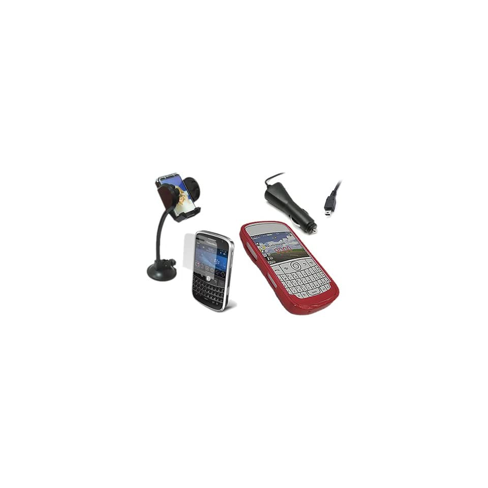 In Car Suction Windscreen Holder For Blackberry 9000 Bold