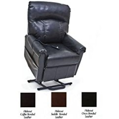 Mega Motion Lift Chairs Reviews Hanging Amazon.com: Black Bonded Leather Power Chair Easy Comfort Recliner Lc-401 2 ...