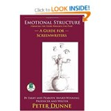Writer's Resources: Cover of Peter Dunne's Emotional Structure: Creating the Story Beneath the Plot