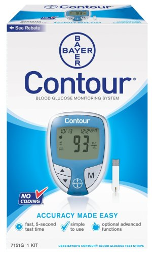 Buy Low Price Bayer S Contour Blood Glucose Monitoring