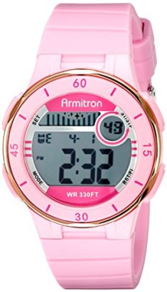 Armitron-Sport-Womens-457049PNK-Rose-Gold-Tone-Accented-Digital-Chronograph-Watch