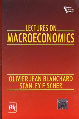 Lectures on Macroeconomics