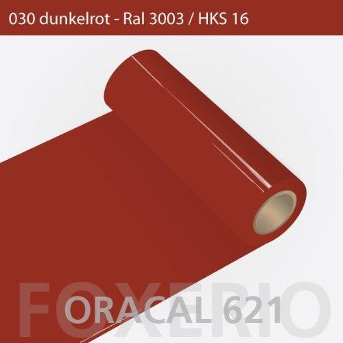 Your Design Klebefolie - Oracal 621 - 63cm Rolle - 10m (Laufmeter) - Dunkelrot   Klebefolien für Möbel, 1oracal-621-10m-63cm-06-kl