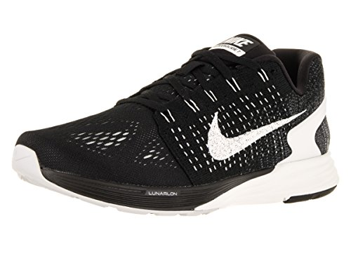 Nike Men's Lunarglide 7 Black/Summit White/Anthracite Running Shoe 9 Men US