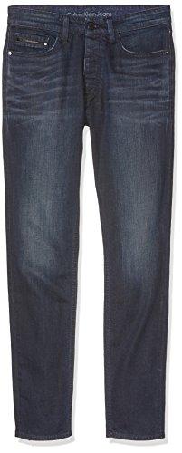 Calvin Klein Jeans Herren Jeanshose Taper-Sake Blue