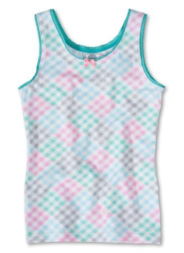 Sanetta Mädchen Unterhemd, All over Druck 342707