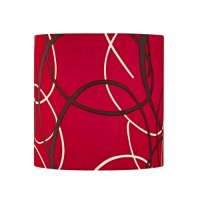 Uno Lamp Shades: Lower Price Red Uno Drum Lamp Shade from ...