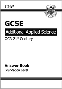 GCSE Additional Applied Science OCR 21st Century Answers