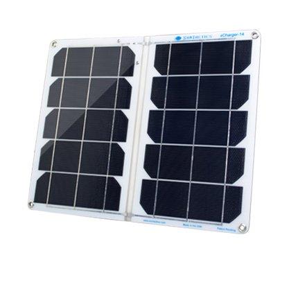 Suntactics sCharger-14 最大出力14W(5V/2.8A) アメリカ製ソーラーチャージャー 完全防水仕様IPX7 USB2ポート