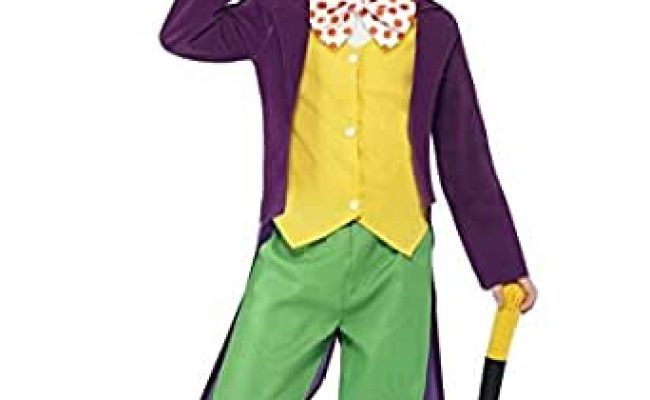 Amazon Roald Dahl Willy Wonka Fancy Dress Costume