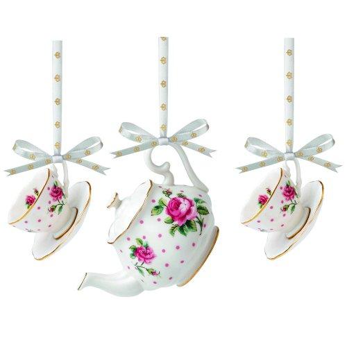 Royal Albert Christmas ornaments