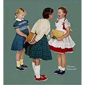 Missing Tooth by Norman Rockwell. Size 20.38 X 22.00