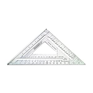 Johnson Level & Tool RAS-120 12-Inch Aluminum Rafter Angle
